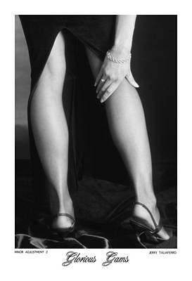 African Women Nude Photograph - Glorious Gams - Minor Adjustment II by Jerry Taliaferro