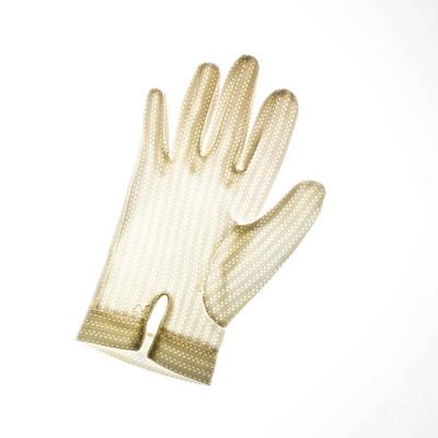 Glove Art Print by Bernard Jaubert