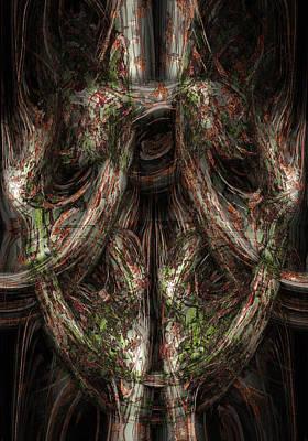 Spirit Photograph - Gnarled by Christopher Gaston