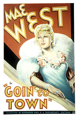 Goin To Town, Mae West, 1935 Art Print by Everett