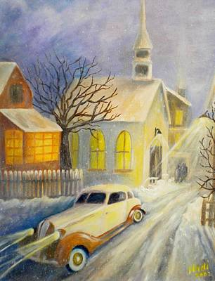 Going Home Art Print by Renate Nadi Wesley