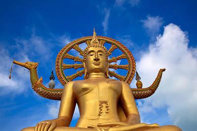 Golden Buddha Art Print