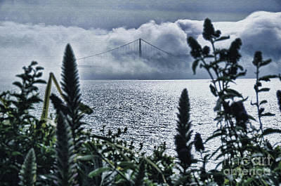 Art Print featuring the photograph Golden Gate Bridge - 1 by Mark Madere