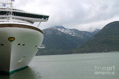 Photograph - Golden Princess In Alaska by Pamela Walrath