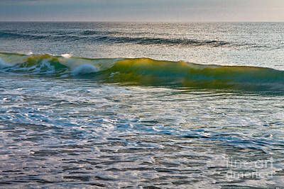 Photograph - Golden Wave by Susan Cole Kelly