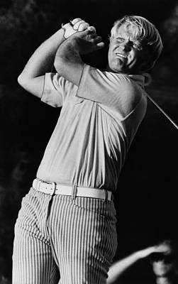 Nicklaus Photograph - Golf Pro Jack Nicklaus, C. 1970s by Everett