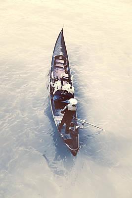 gondola - Venice Art Print