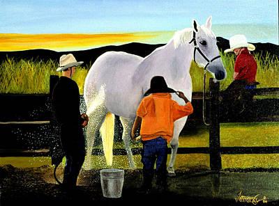 Painting - Good Clean Fun by JoeRay Kelley