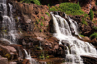 Photograph - Gooseberry Falls by Steve Stuller