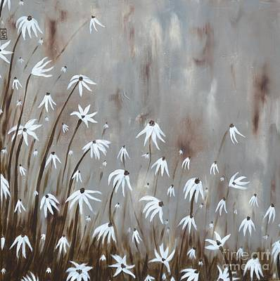 Painting - Gossamer Field by Holly Donohoe