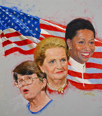 Painting - Government  by Cliff Spohn
