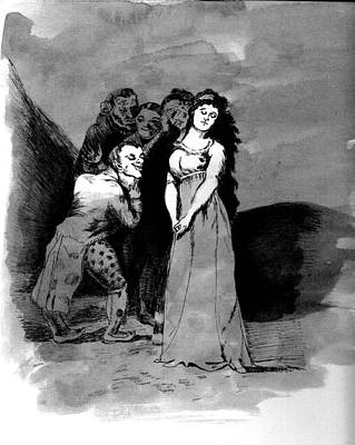 Drawing - Goya Copy by Sarah Farren