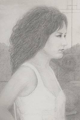 Grace Slick Drawing - Grace Slick by Jami Cirotti