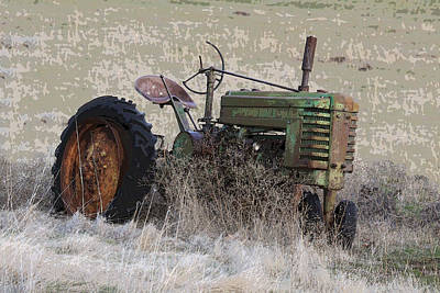 Photograph - Grampa's Old Tractor by Steve McKinzie