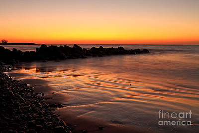 Gran Canaria Sunrise  Art Print by Pete Reynolds