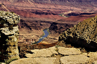 Grand Canyon Colorado River Print by Bob and Nadine Johnston