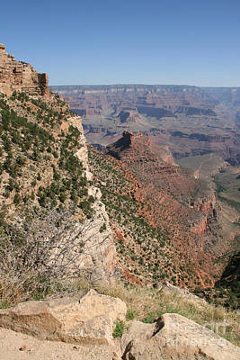 Grand Canyon National Park Arizona Usa Art Print by Audrey Campion