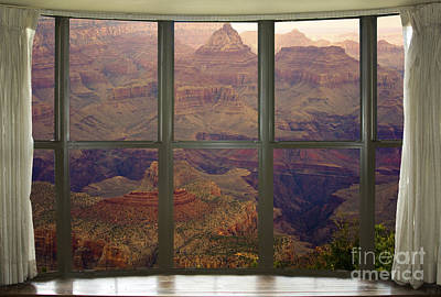 Grand Canyon Springtime Bay Window View Art Print by James BO  Insogna
