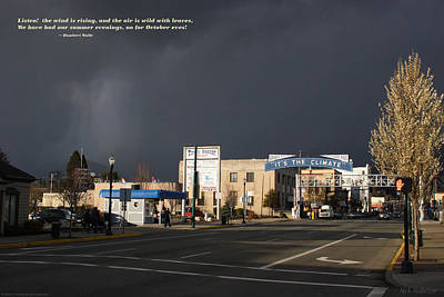Photograph - Grants Pass Weather by Mick Anderson