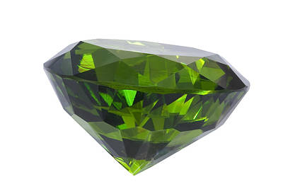Great Emerald Isolated Original