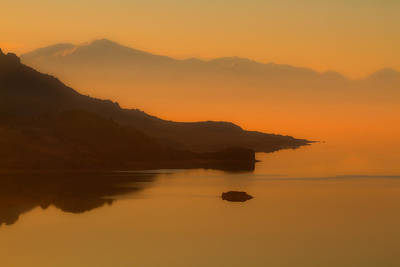 Photograph - Great Salt Lake Utah by Utah Images