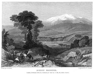 Greece: Mount Olympus Art Print by Granger
