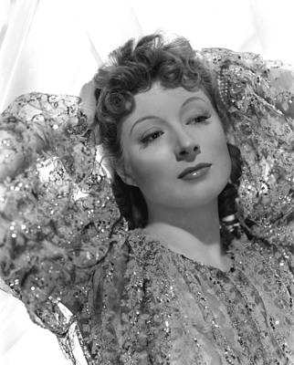 Hands Behind Head Photograph - Greer Garson, 1939, Photo By Clarence by Everett
