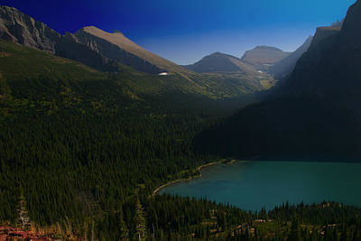Photograph - Grinnell Lake Glacier National Park by Benjamin Dahl