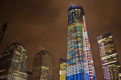 Photograph - Ground Zero Freedom Tower by Theodore Jones