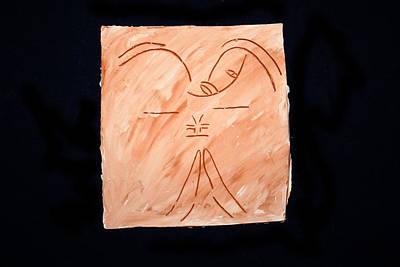 Ceramic Art - Guardian Angel by Gloria Ssali