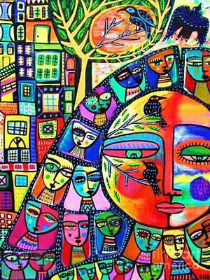 Guardian Goddess Art Print