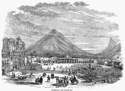 Black Commerce Photograph - Guatemala City, 1856 by Granger