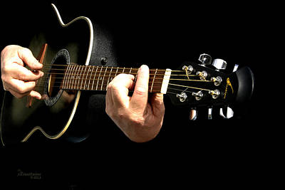 Photograph - Guitar In Hands  by Ericamaxine Price