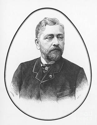 Photograph - Gustave Eiffel, French Architect by Science Source