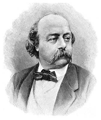 Gustave Flaubert Wall Art - Photograph - Gustave Flaubert (1821-1880) by Granger