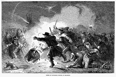 Guy Fawkes Day, 1853 Print by Granger