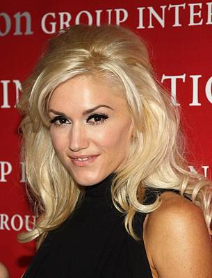 Gwen Stefani At Arrivals For Fashion Print by Everett