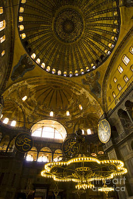 Art Print featuring the photograph Hagia Sofia by Leslie Leda