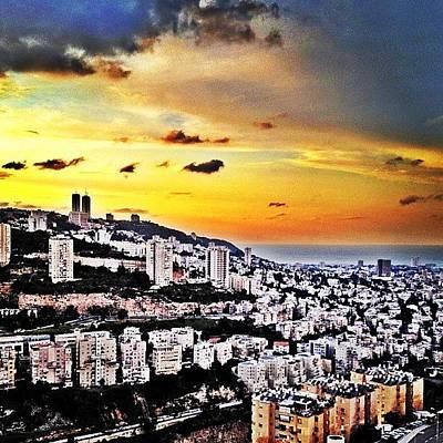 Photograph - Haifa by Kim Cafri