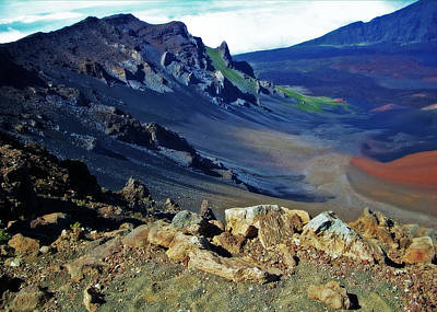 Photograph - Haleakala Crater In Maui by Sheila Kay McIntyre