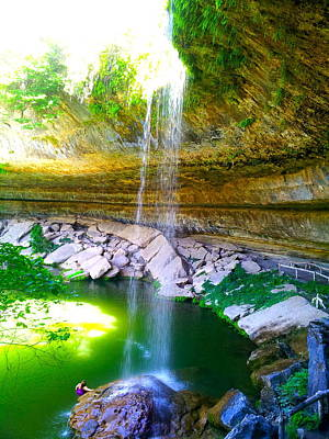 Photograph - Hamilton Pool by Amber Hennessey