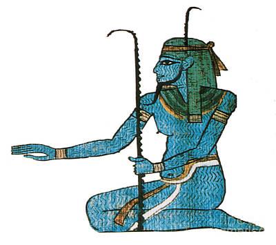 Photograph - Hapi Egyptian God by Photo Researchers