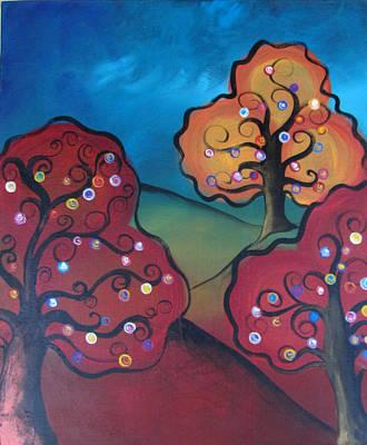 Yasmin Modi Painting - Happy Ever After by Yasmin  Modi