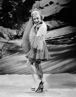 1938 Movies Photograph - Happy Landing, Sonja Henie, 1938 by Everett