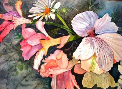 Painting - Happy Mother's Day by AnnE Dentler