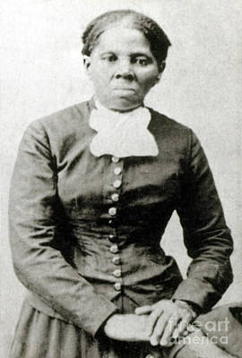 Harriet Tubman American Abolitionist Art Print by Photo Researchers