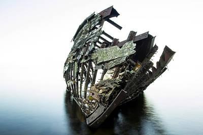 23 Hours Photograph - Harvey Neelon Shipwreck So They Say... by Jakub Sisak
