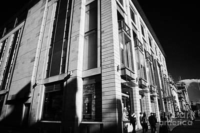 Harvey Nichols Store St Andrew Square Edinburgh Scotland Uk United Kingdom Art Print by Joe Fox