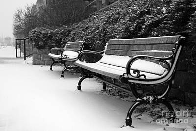 Photograph - Have A Seat by Joel Witmeyer