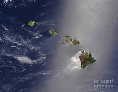 Niihau Hawaii Photograph - Hawaiian Islands by Stocktrek Images